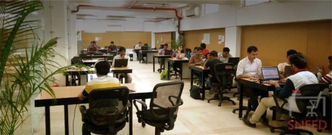 80 seaters Open Desk New Delhi Chhattarpur startup-tunnel-coworking