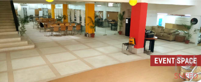 100 seaters Event Space New Delhi Chhattarpur startup-tunnel-coworking