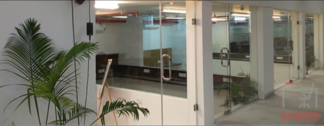 6 seaters Private Room New Delhi Chhattarpur startup-tunnel-coworking