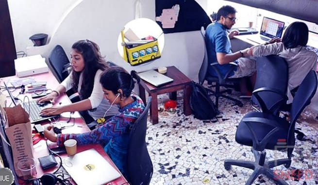 10 seaters Open Desk Mumbai Bandra collabworks-cuckoo-cafe