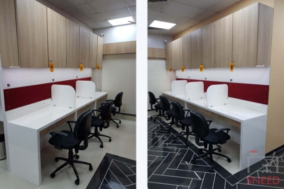4 seaters Open Desk Mumbai Mulund the-space-mumbai