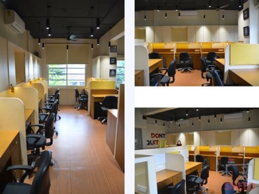 12 seaters Open Desk Pune SB Marg the-space-pune