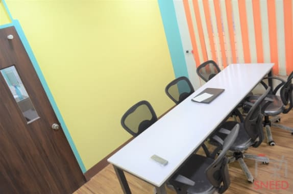 6 seaters Meeting Room Pune Aundh incube-co-working-space