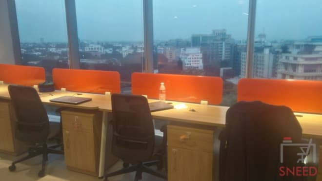 75 seaters Open Desk Bangalore Lavelle Road awfis-lavelle