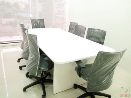 8 seaters Meeting Room Bangalore Kudlu Gate econstruct-shared-office