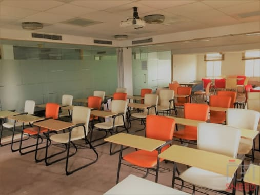 50 seaters Training Room Bangalore MG Road target-workspace