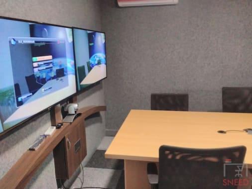 6 seaters Meeting Room Bangalore Indiranagar spacelance-indiranagar