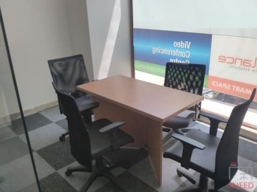 4 seaters Meeting Room Bangalore Indiranagar spacelance-indiranagar