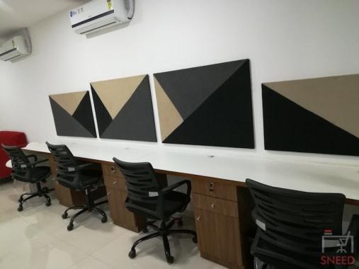 5 seaters Open Desk Pune Kharadi spacelance-pune
