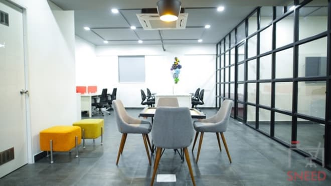 10 seaters Open Desk Bangalore Whitefield gospaze-coworking-centre