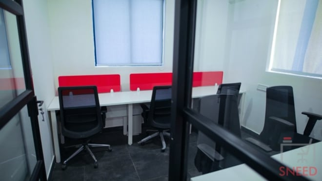 4 seaters Private Room Bangalore Whitefield gospaze-coworking-centre