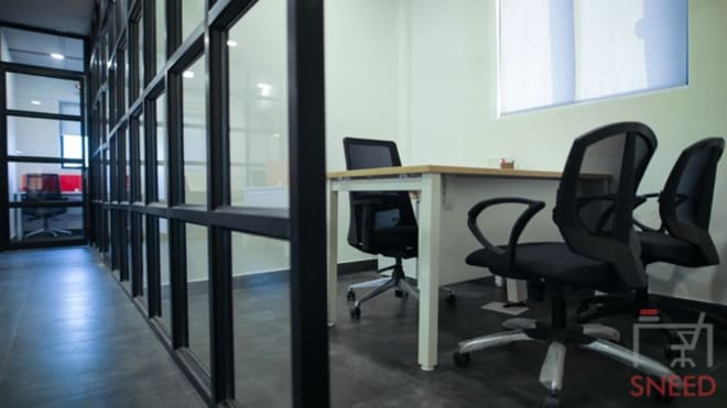 3 seaters Private Room Bangalore Whitefield gospaze-coworking-centre