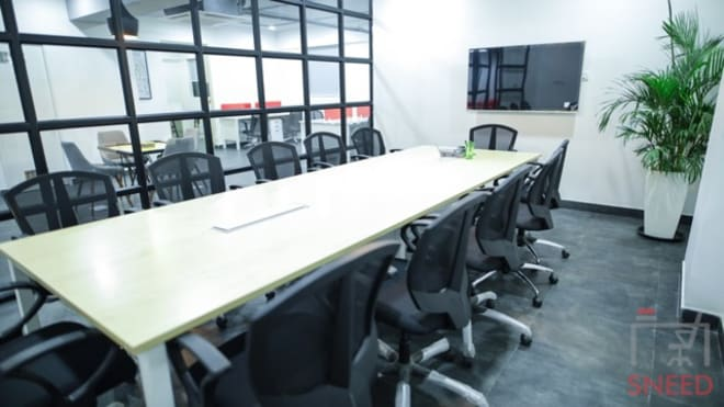 12 seaters Meeting Room Bangalore Whitefield gospaze-coworking-centre