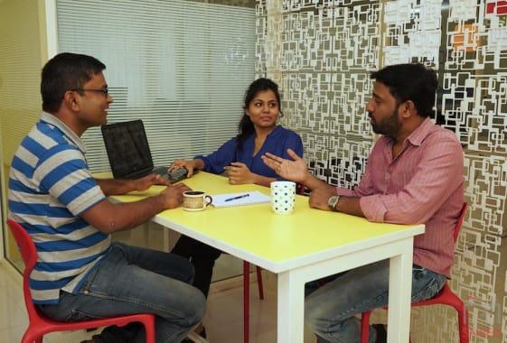 4 seaters Meeting Room Pune Baner trios-baner