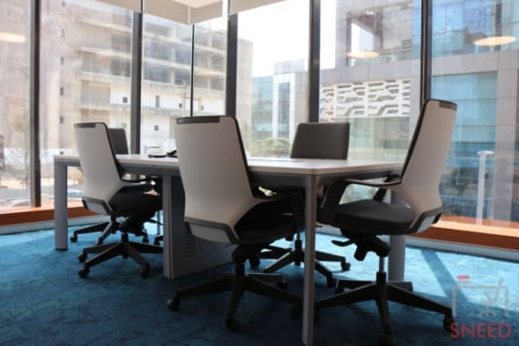 6 seaters Meeting Room Gurgaon Sector 44 plus-offices-sector-44