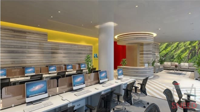20 seaters Open Desk Bangalore MG Road novel-office-central