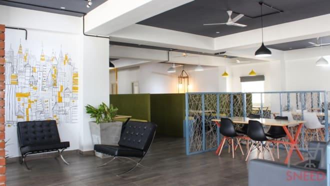 54 seaters Open Desk Bangalore Banashankari bhive-uttarahalli