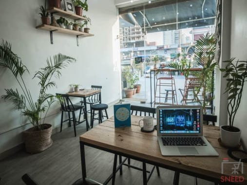 5 seaters Open Desk Noida Sector 75 the-haven-international-noida---myhq-coworking-space