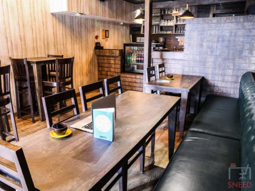 15 seaters Open Desk Noida Sector 12 myhq-town-cafe-coworking-space-faridabad