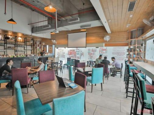 10 seaters Open Desk New Delhi Dwarka myhq-drool-fresh-bake-house--coworking-space