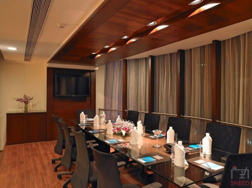 12 seaters Meeting Room Bangalore Koramangala blupetal-hotel