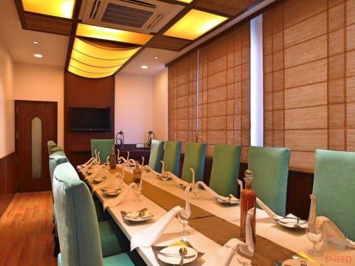 18 seaters Meeting Room Bangalore Koramangala blupetal-hotel