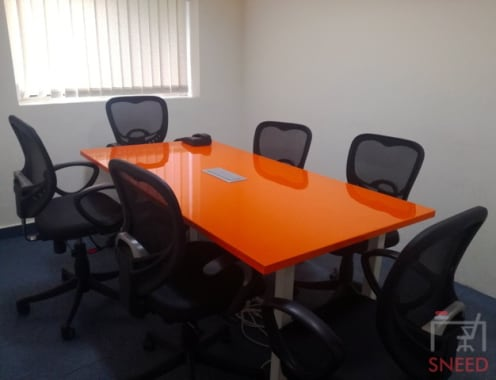 6 seaters Meeting Room Noida Sector 63 easy-office-coworking