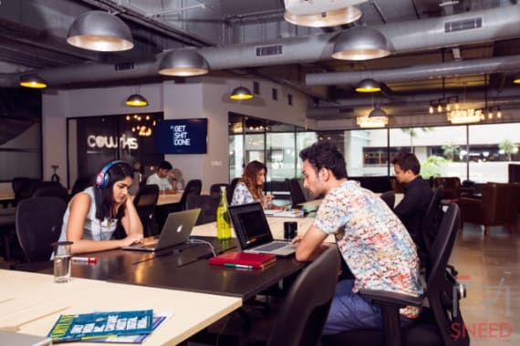 36 seaters Open Desk Gurgaon Sector 54 cowrks-golf-course-gurgaon