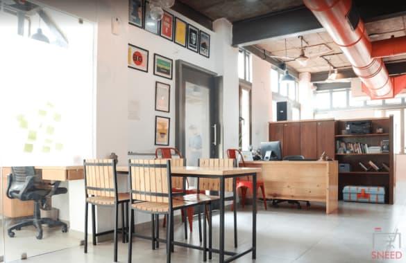 13 seaters Open Desk Ahmedabad Ellisbridge 5b-colab
