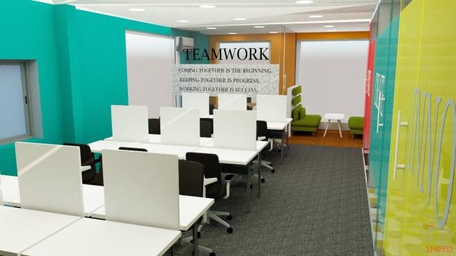 6 seaters Private Room Bangalore Indiranagar new-workspace-indiranagar
