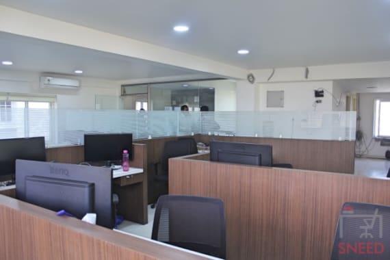 37 seaters Open Desk Hyderabad Kondapur velsol