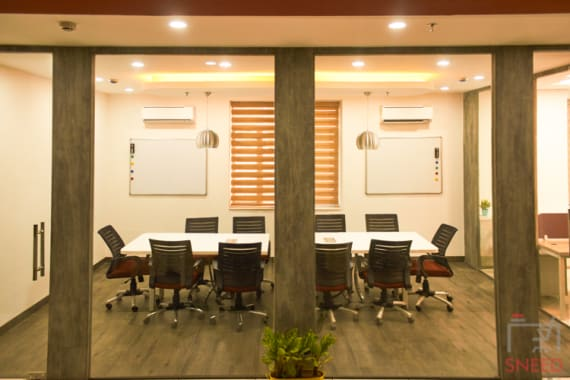 8 seaters Meeting Room Noida Sector 63 workwings