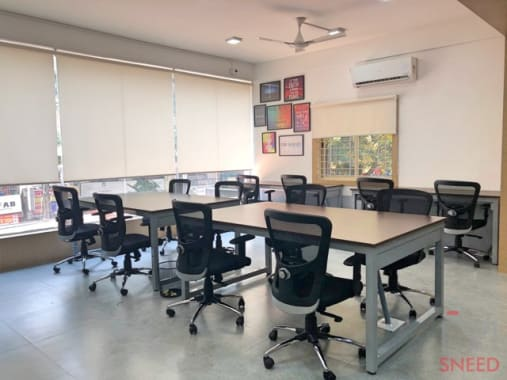 70 seaters Open Desk Bangalore Indiranagar square-one