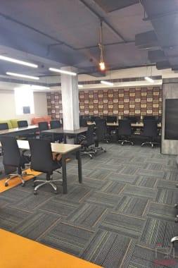 50 seaters Open Desk Gurgaon Udyog Vihar co4u
