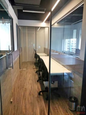 6 seaters Private Room Gurgaon Sector 53 isharespace-gurgaon