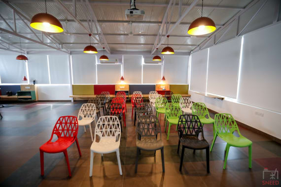 70 seaters Training Room Bangalore Koramangala mybotree
