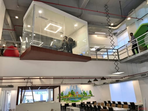 10 seaters Meeting Room Gurgaon Cyber City the-office-pass-cyber-city