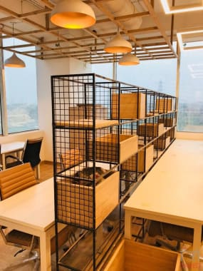 50 seaters Open Desk Gurgaon Sector 74A the-office-pass-dlf-corporate-greens