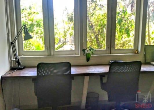 6 seaters Open Desk Mumbai Santacruz workbay-santacruz