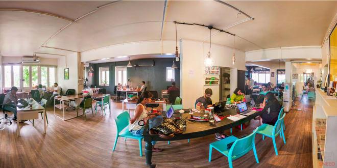 10 seaters Open Desk Mumbai Santacruz workbay-santacruz