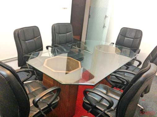 6 seaters Meeting Room New Delhi Shahpur Jat delhi-co.-shahpur
