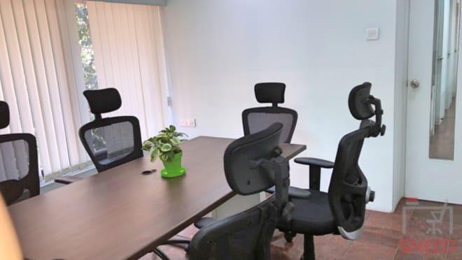 6 seaters Meeting Room Chennai Nungambakkam karya-space-nungambakkam