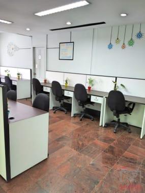 15 seaters Open Desk Chennai Nungambakkam karya-space-nungambakkam