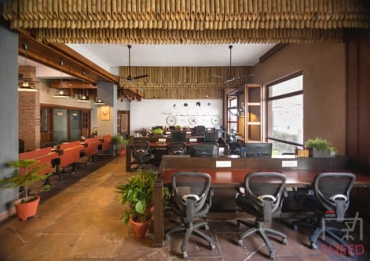50 seaters Open Desk Noida Sector 65 unboxed-coworking
