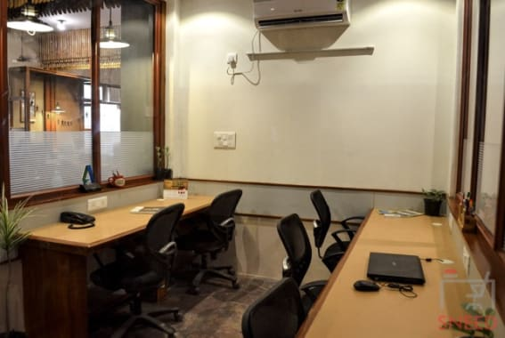 6 seaters Private Room Noida Sector 65 unboxed-coworking