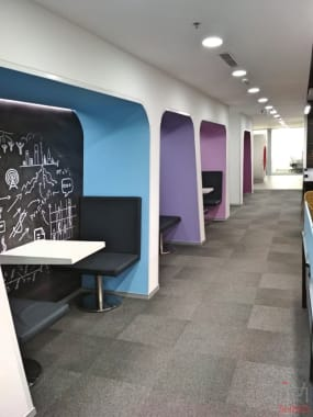 60 seaters Open Desk Gurgaon DLF Cyber City apeejay-business-centre-gurugram