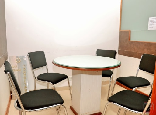 6 seaters Meeting Room Chandigarh Sector 17C corporate-business-center