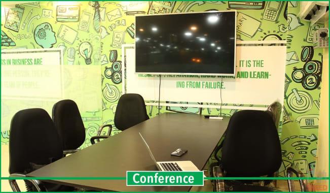 5 seaters Meeting Room Lucknow Indira Nagar qworky-indira-nagar