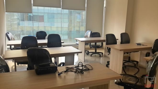35 seaters Private Room Bangalore Bellandur skylamp-business-spaces