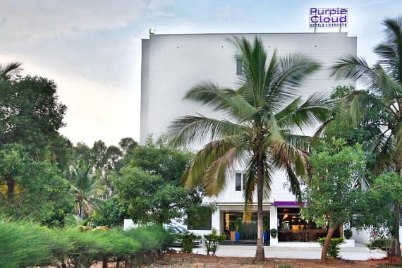 General Bangalore Yelahanka purple-cloud